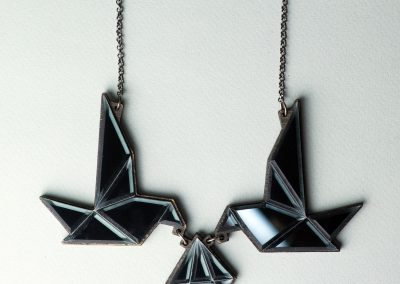 Black-Birds-Necklace Carla Szabo
